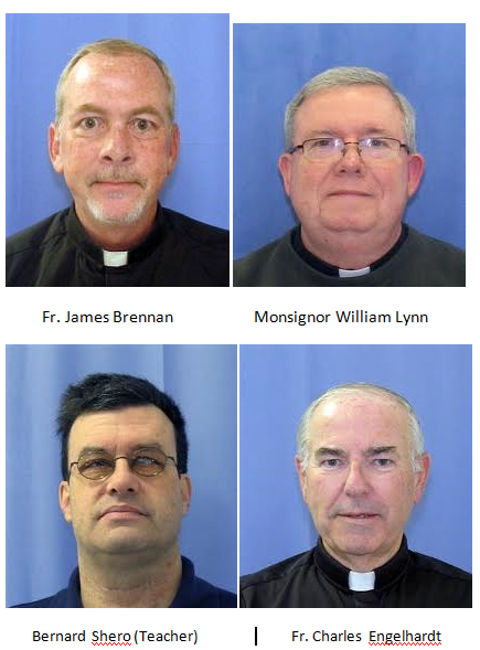 ARCHDIOCESE OF PHILADELPHIA – ARRESTS – CLERGY SEX ABUSE OF CHILDREN PLUS