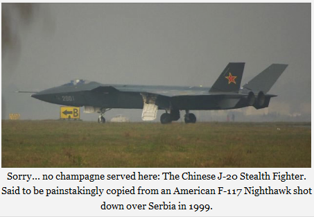 NO CHAMPAGNE SERVED HERE- THE CHINESE J-20 STEALTH FIGHTER ...