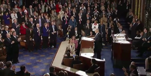 Multiple Standing Ovations during Prime Minister Benjamin Netanyahu's Speech at joint meeting of United States Congress - May 24, 2011