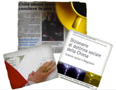 CHILD ABUSE, SOCIALISM and the 2013 CONCLAVE