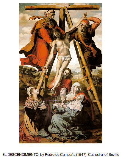 EL DESCENDIMIENTO, by Pedro de Campaña (1547)  Cathedral of Seville - 2013-03-28 at 11.54.30 PM