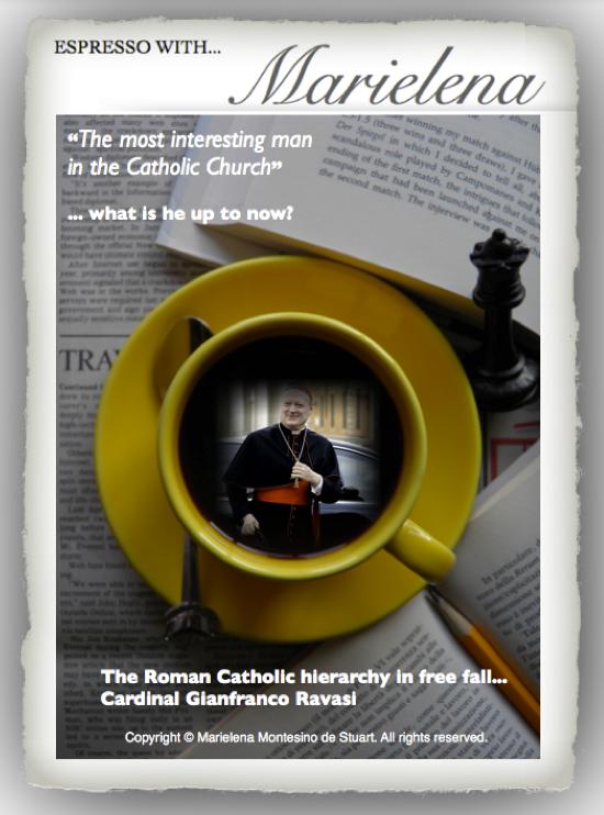 Copyright © Marielena Montesino de Stuart. All rights reserved. Cardinal Gianfranco Ravasi - 2013-04-28 at 8.27.13 PM
