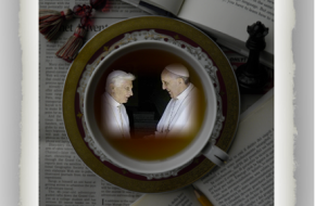 TEA WITH MARIELENA: Benedict XVI and Francis… together again! What a great time to ask questions!