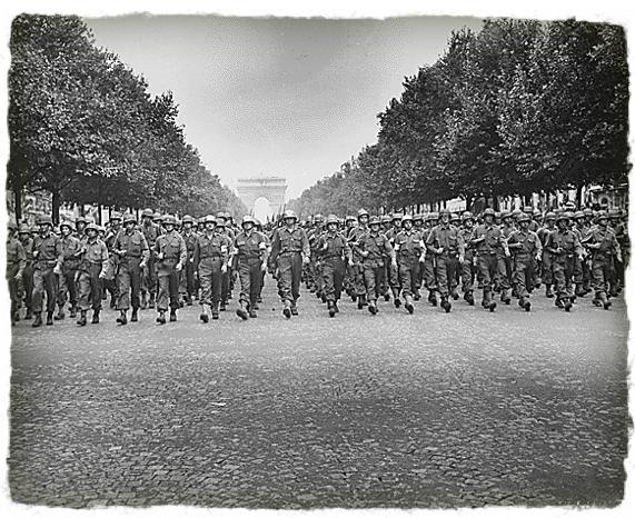 28th Infantry Division – Champs Élysées – Victory Parade