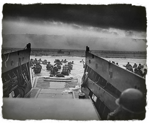 INTO THE JAWS OF DEATH (D-DAY)
