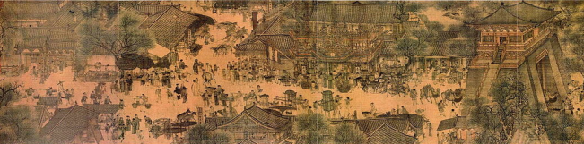 Along the River During the Qingming Festival