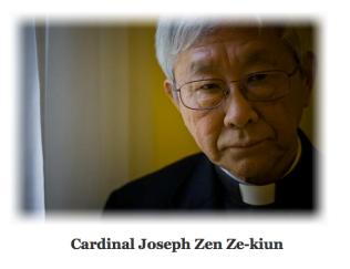 CARDINAL JOSEPH ZEN ZE-KIUN, HONG KONG