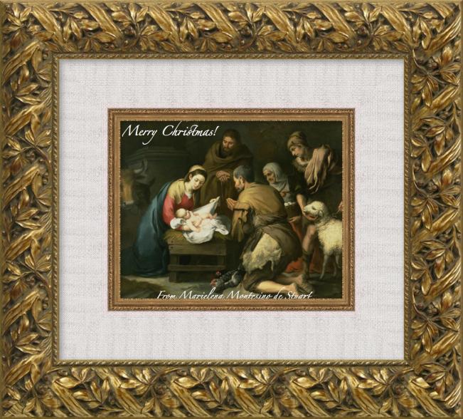 MERRY CHRISTMAS - 2013 - MARIELENA MONTESINO DE STUART