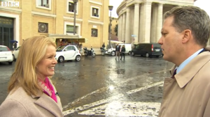 """FRANCIS, A HOT COMMODITY..."" GREG BURKE SPEAKS TO KATTY KAY OF BBC NEWS"