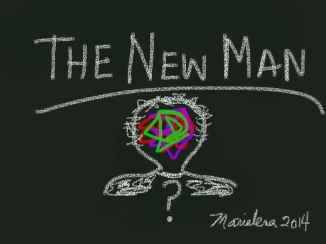 THE NEW MAN - Copyright © Marielena Montesino de Stuart. All rights reserved.