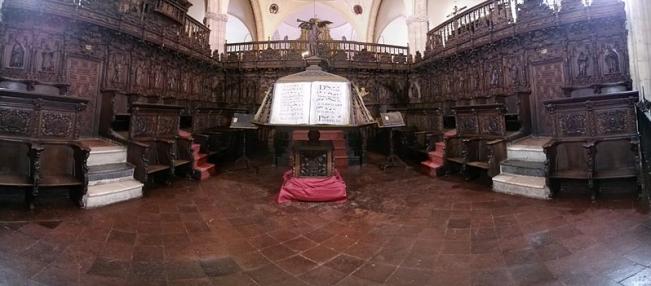 Choir, Santa María la Mayor - Ronda, Málaga - Photo by Mauro Marinelli WikiCommons