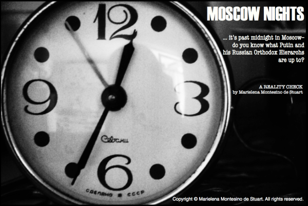 MOSCOW NIGHTS... Copyright © Marielena Montesino de Stuart. All rights reserved.