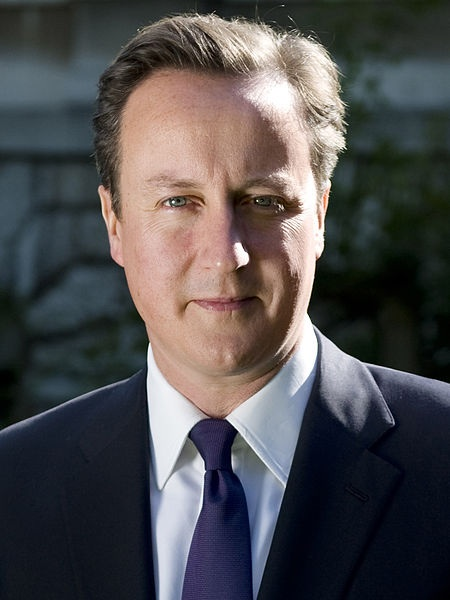 Official photo of Prime Minister David Cameron on 10 Downing Street website.