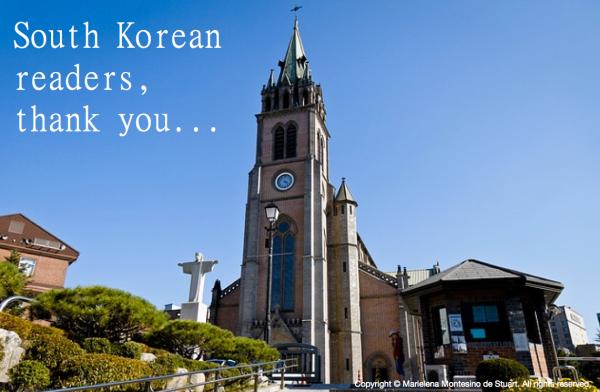 SOUTH KOREAN READERS, THANK YOU... Copyright © Marielena Montesino de Stuart. All rights reserved.