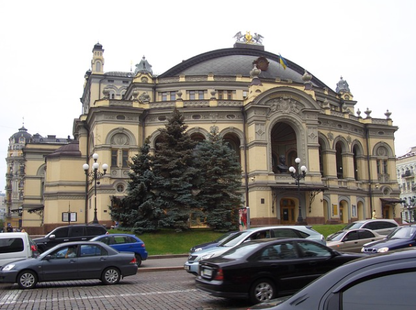 Opera House in Kiev, Ukraine