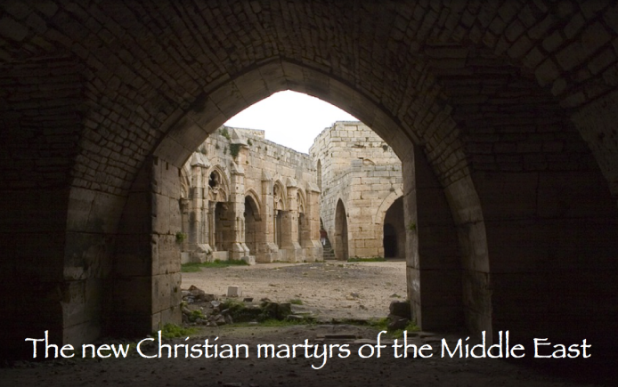 The new Christian martyrs of the Middle East - Copyright © Marielena Montesino de Stuart. All rights reserved. Marielena Speaks, Marielena Stuart.