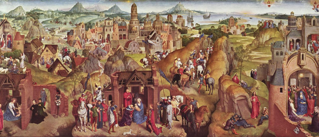 HANS MEMLING - The Journey Begins... Copyright © Marielena Montesino de Stuart. All rights reserved.