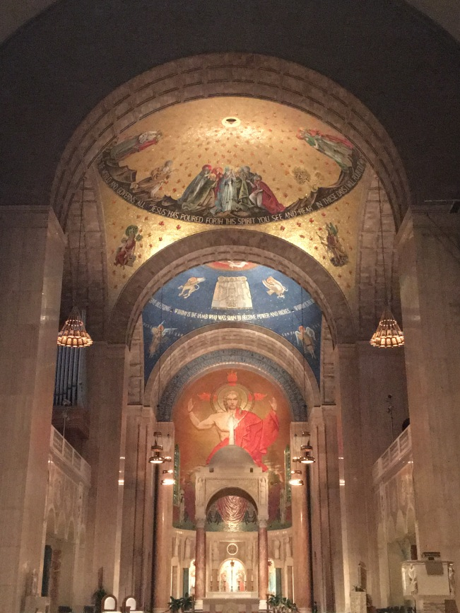 COPYRIGHT © MARIELENA MONTESINO DE STUART. ALL RIGHTS RESERVED. BASILICA OF THE NATIONAL SHRINE OF THE IMMACULATE CONCEPTION IN WASHINGTON DC