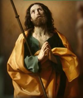 St. James the Greater (Santiago de Compostela) - Patron Saint of Spain and Pilgrims.