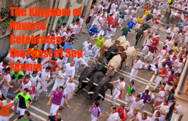 The Kingdom of Navarre Celebrates the Feast of San Fermín - Copyright © Marielena Montesino de Stuart. All rights reserved.