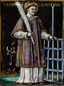 Saint Lawrence - Patron Saint of Cooks
